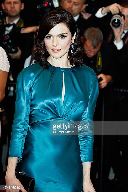 Actress Rachel Weisz attends the 'Youth' premiere during the 68th annual Cannes Film Festival on May 20 2015 in Cannes France