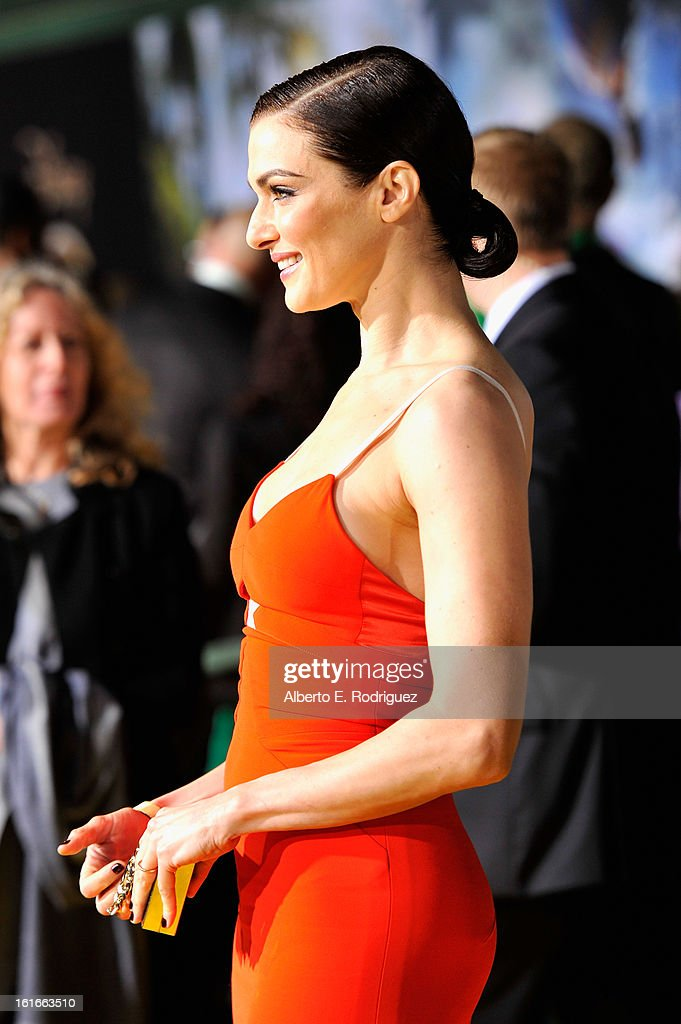 Actress Rachel Weisz attends Walt Disney Pictures World Premiere of 'Oz The Great And Powerful' - Red Carpet at the El Capitan Theatre on February 13, 2013 in Hollywood, California.