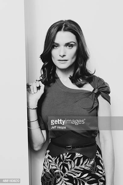Actress Rachel Weisz from 'The Lobster' poses for a portrait at the 2015 Toronto Film Festival at the TIFF Bell Lightbox on September 11 2015 in...