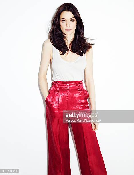 Actress Rachel Weisz is photographed for Madame Figaro on January 21 2011 in Paris France Published image Figaro ID 099839012 Tank top by Majestic...