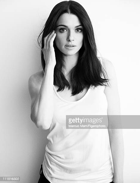 Actress Rachel Weisz is photographed for Madame Figaro on January 21 2011 in Paris France Figaro ID 099839017 Tank by Riccardo Tisci for Givenchy...