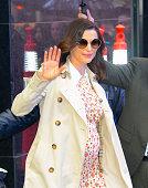 Celebrity Sightings in New York City - April 25, 2018