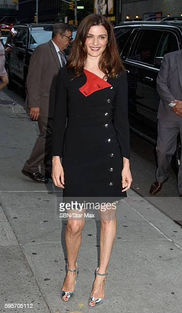 Actress Rachel Weisz is seen on August 25 2016 at a screening of 'Southside For You' in New York City