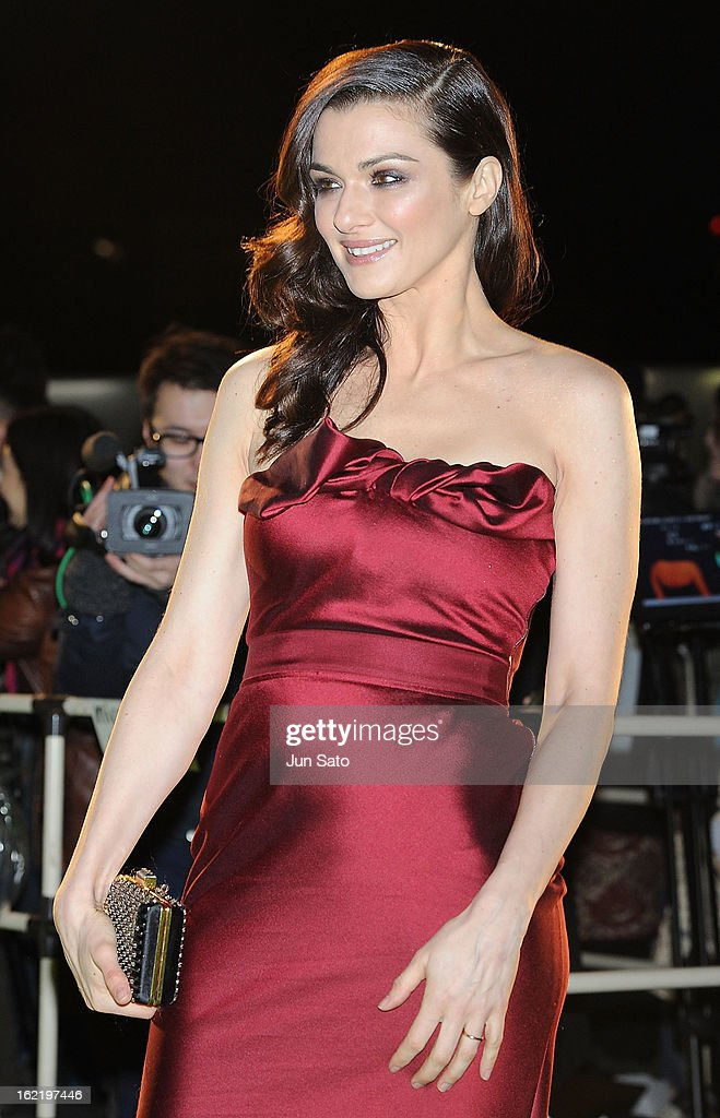 Actress Rachel Weizs attends the 'Oz: the Great and Powerful' Japan Premiere at Roppongi Hills on February 20, 2013 in Tokyo, Japan.