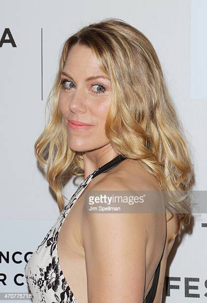 Actress Rachel Whitman Groves attends the 2015 Tribeca Film Festival world premiere narrative 'Maggie' at BMCC Tribeca PAC on April 22 2015 in New...