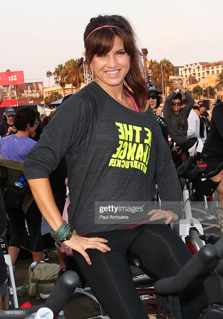 Actress Rachele Brooke Smith attends the Cycle For Heroes: A Rock Inspired Ride on at the Santa Monica Pier on September 11, 2013 in Santa Monica, California.