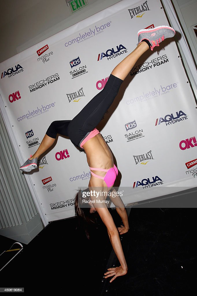 Actress Rachele Brooke Smith stops by the Skechers booth at OK! Body & Soul 2014 at The Casa Del Mar Hotel on June 14, 2014 in Santa Monica, California.