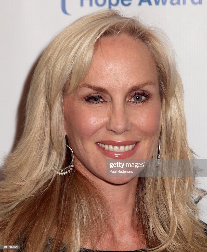 Actress Rachelle Carson arrives at Writers In Treatment's 4th Annual Experience, Strength And Hope Awards at Skirball Cultural Center on February 15, 2013 in Los Angeles, California.