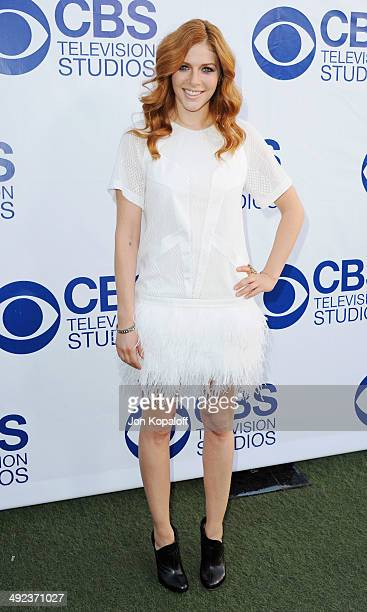 Actress Rachelle Lefevre arrives at the CBS Summer Soiree at The London West Hollywood on May 19 2014 in West Hollywood California
