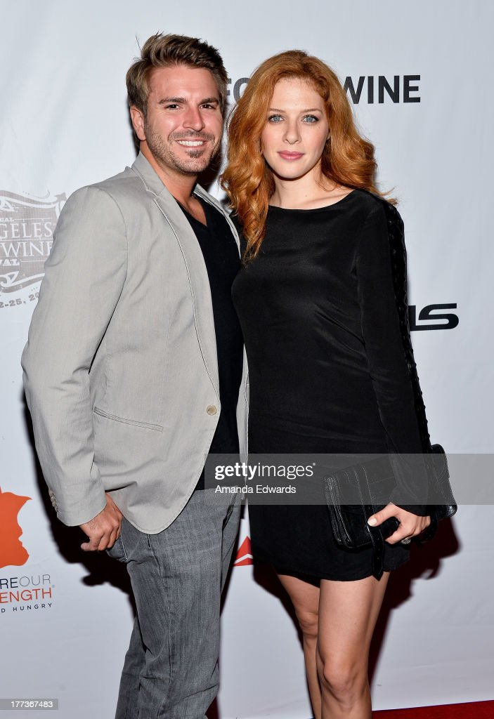 Actress Rachelle Lefevre (R) arrives at the opening night of the 2013 Los Angeles Food & Wine Festival - 'Festa Italiana With Giada De Laurentiis' on August 22, 2013 in Los Angeles, California.