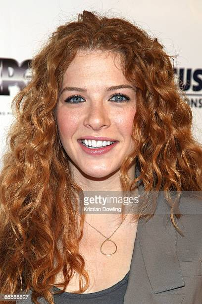 Actress Rachelle LeFevre arrives for the Premiere of 'Blood River' at the Egyptian Theatre on 24 March 2009 in Los Angeles California