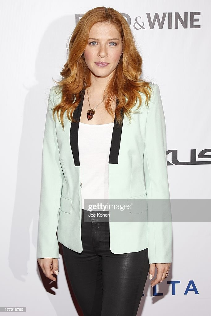 Actress Rachelle Lefevre attends LEXUS Live On Grand At The 3rd Annual Los Angeles Food & Wine Festival on August 24, 2013 in Los Angeles, California.