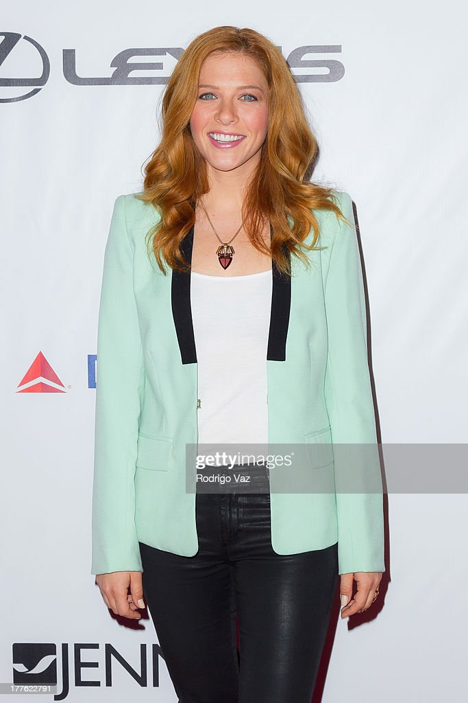 Actress Rachelle Lefevre attends LEXUS Live On Grand at the 3rd Annual Los Angeles Food & Wine Festival arrivals on August 24, 2013 in Los Angeles, California.