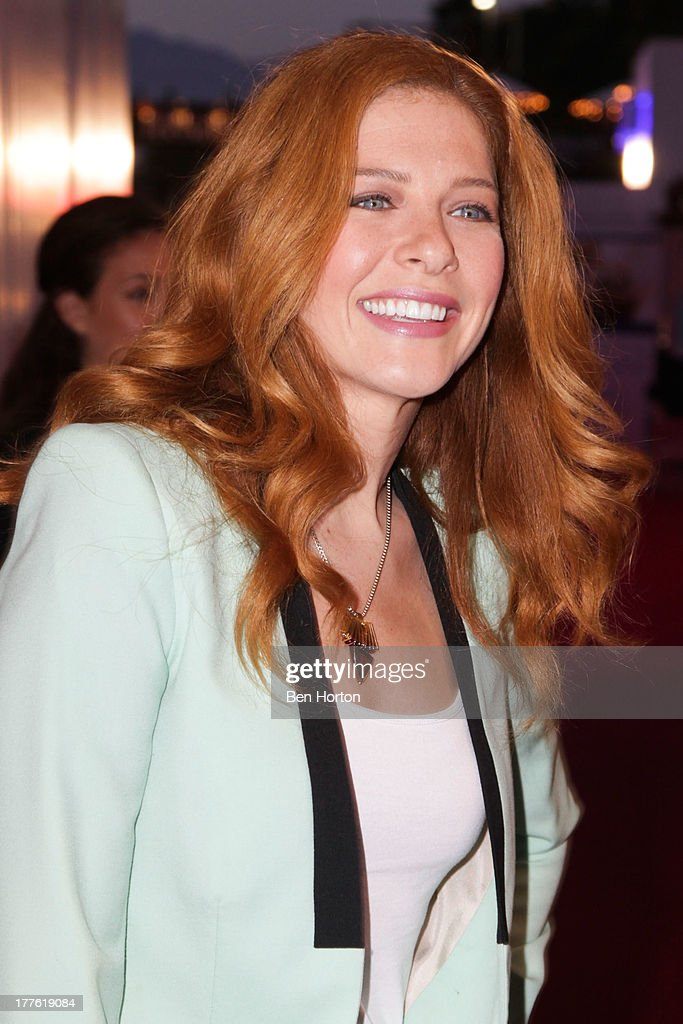 Actress Rachelle Lefevre attends LEXUS Live on Grand hosted by Curtis Stone at the third annual Los Angeles Food & Wine Festival on August 24, 2013 in Los Angeles, California.