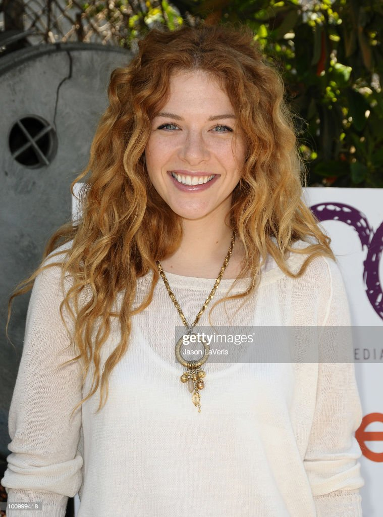 Actress Rachelle Lefevre attends the Environmental Media Association's annual Organic Garden Luncheon at The Learning Garden at Venice High School on May 26, 2010 in Venice, California.