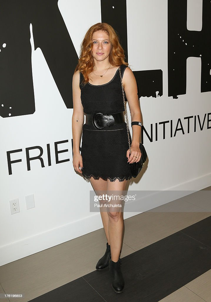 Actress <a gi-track='captionPersonalityLinkClicked' href=/galleries/search?phrase=Rachelle+Lefevre&family=editorial&specificpeople=2538883 ng-click='$event.stopPropagation()'>Rachelle Lefevre</a> attends the NKLA Pet Adoption Center ribbon cutting and celebrity/donor brunch at NKLA Pet Adoption Center on August 11, 2013 in Los Angeles, California.