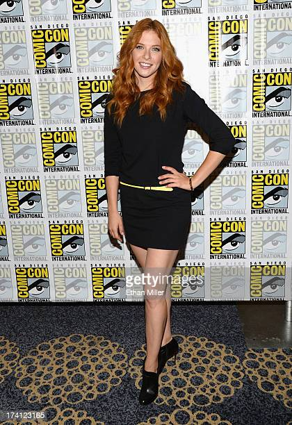 Actress Rachelle Lefevre attends the 'Under the Dome' press line during ComicCon International 2013 at the Hilton Bayfront on July 20 2013 in San...