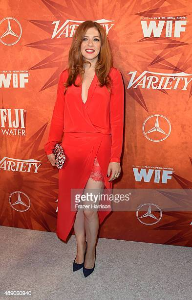 Actress Rachelle Lefevre attends the Variety and Women in Film Annual PreEmmy Celebration at Gracias Madre on September 18 2015 in West Hollywood...