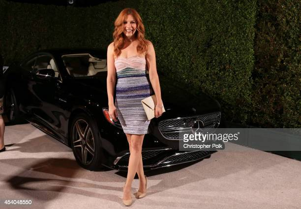 Actress Rachelle Lefevre attends Variety and Women in Film Emmy Nominee Celebration powered by Samsung Galaxy on August 23 2014 in West Hollywood...