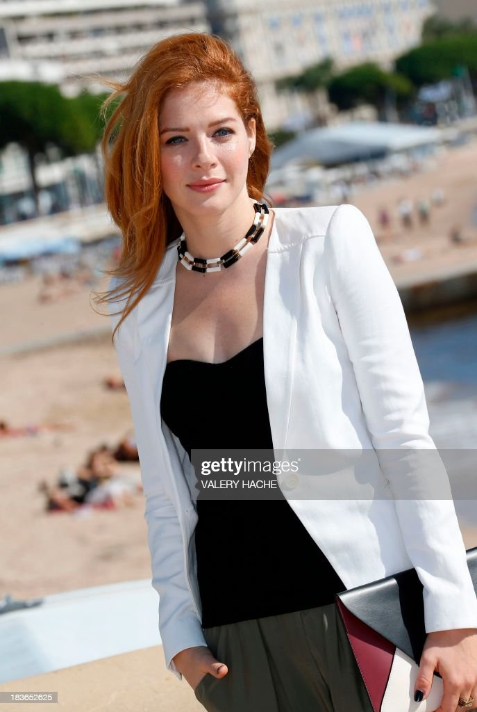 US actress Rachelle LeFevre poses during a photocall for a TV show 'Under the Dome' as part of the MIPCOM audiovisual trade fair on October 8, 2013 in Cannes, southeastern France.