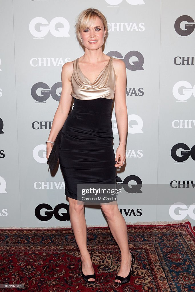 Actress Radha Mitchell arrives at the 2010 GQ Men of The Year Awards at the Sydney Opera House on November 30, 2010 in Sydney, Australia.