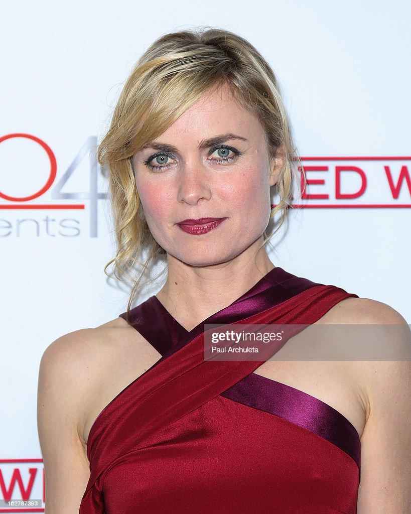 Actress Radha Mitchell attends a dinner to celebrate ABC's new series 'Red Widow' at Romanov Restaurant & Lounge on February 26, 2013 in Studio City, California.