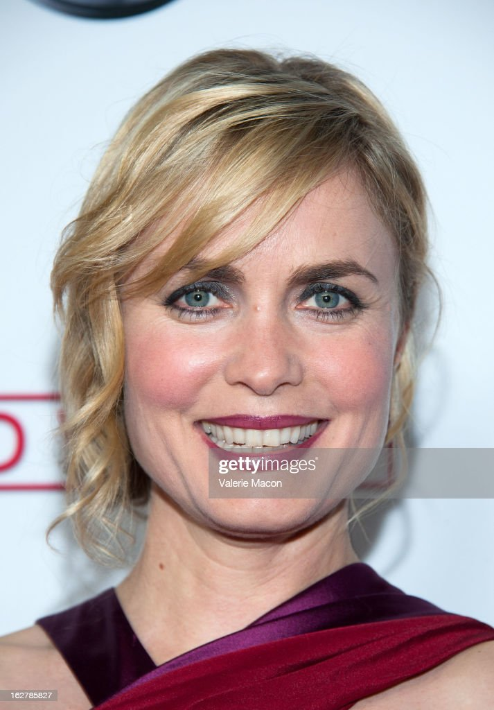 Actress Radha Mitchell attends ABC's 'Red Widow' Red Carpet Event at Romanov Restaurant Lounge on February 26, 2013 in Studio City, California.