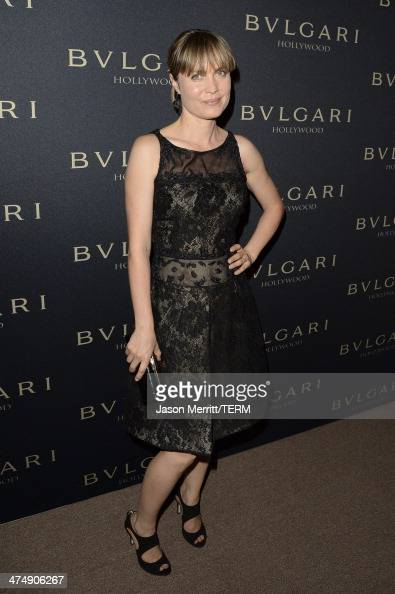 Actress Radha Mitchell attends 'Decades of Glamour' presented by BVLGARI on February 25 2014 in West Hollywood California