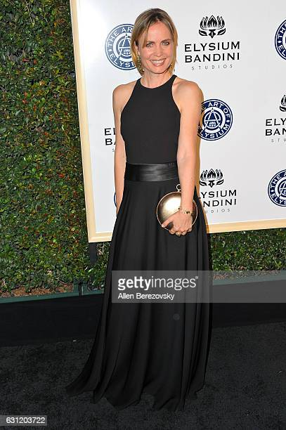 Actress Radha Mitchell attends Stevie Wonder's HEAVEN 10th Anniversary celebration presented by The Art of Elysium at Red Studios on January 7 2017...
