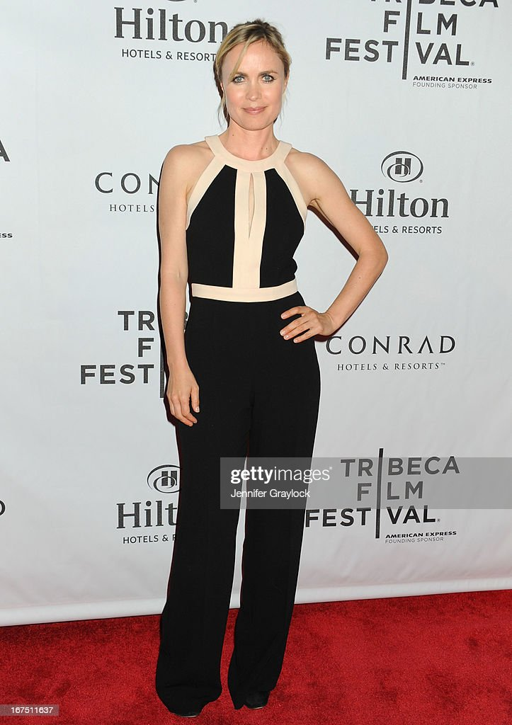 Actress Radha Mitchell attends the 2013 Tribeca Film Festival awards at The Conrad New York on April 25, 2013 in New York City.