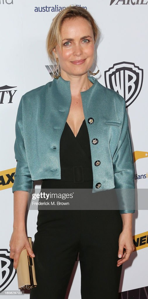 Actress Radha Mitchell attends the Australians in Film Benefit Dinner at the at Intercontinental Hotel on October 24, 2013 in Beverly Hills, California.