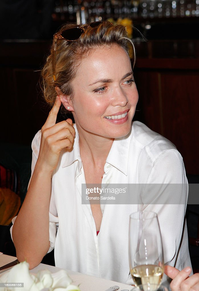 Actress Radha Mitchell attends the Champagne Taittinger Women in Hollywood Lunch hosted by Vitalie Taittinger at Sunset Tower on January 25, 2013 in West Hollywood, California.