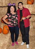 Actress Raini Rodriguez and actor Rico Rodriguez attend 'Rise Of The Jack O'Lanterns' Los Angeles Premiere at Descanso Gardens on October 4 2014 in...