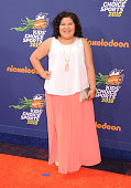 Actress Raini Rodriguez arrives at the Nickelodeon Kids' Choice Sports Awards 2015 at UCLA's Pauley Pavilion on July 16 2015 in Westwood California