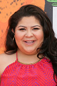 Actress Raini Rodriguez arrives at the Nickelodeon Kids' Choice Sports Awards 2016 at the UCLA's Pauley Pavilion on July 14 2016 in Westwood...