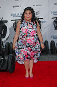 Actress Raini Rodriguez arrives for the 'Paul Blart Mall Cop 2' New York Premiere at AMC Loews Lincoln Square on April 11 2015 in New York City