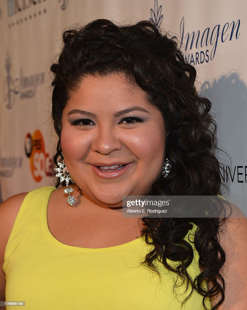 Actress Raini Rodriguez arrives to the 28th Annual Imagen Awards at The Beverly Hilton Hotel on August 16 2013 in Beverly Hills California