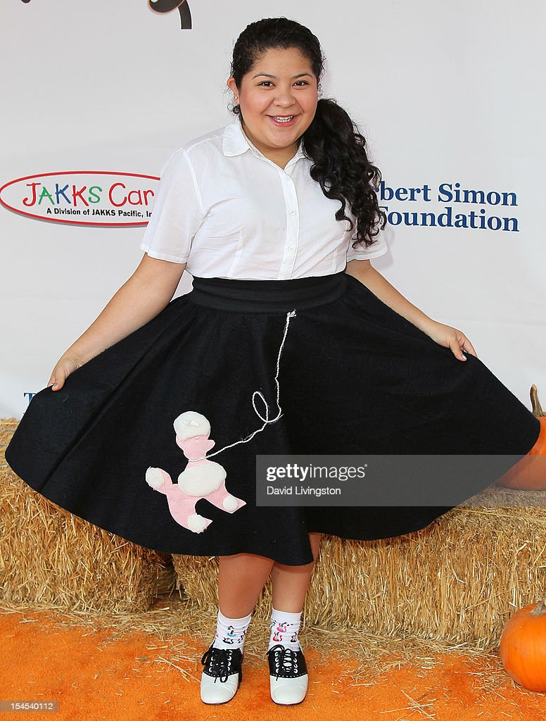 Actress Raini Rodriguez attends Camp Ronald McDonald for Good Times 20th Annual Halloween Carnival at the Universal Studios Backlot on October 21, 2012 in Universal City, California.