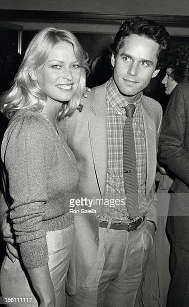 Actress Randi Oakes and Gregory Harrison attending 'Los Angeles Drama Critics Circle Awards Dinner' on April 5 1982 at USC Town and Gown Hall in Los...