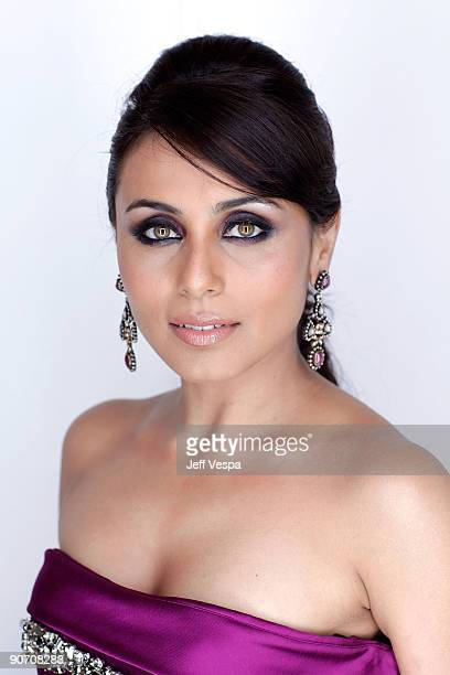 Actress Rani Mukherjee poses for a portrait during the 2009 Toronto International Film Festival held at the Sutton Place Hotel on September 13 2009...