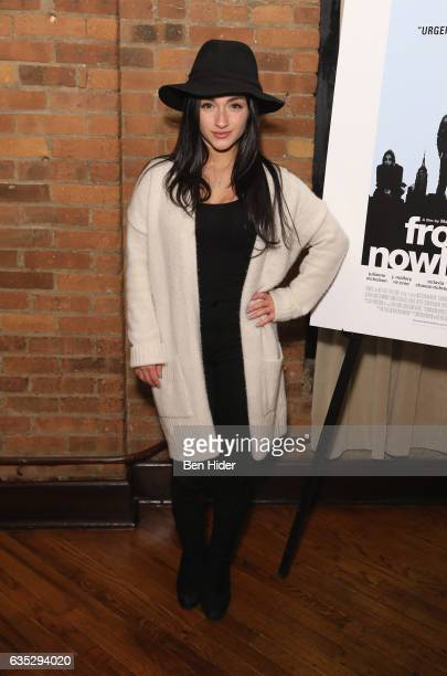 Actress Raquel Castro attends the Special Screening Of FilmRise's 'From Nowhere' at Tribeca Screening Room on February 13 2017 in New York City