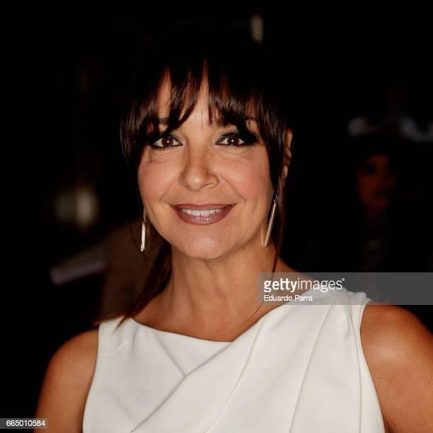 Actress Raquel Infante attends the 'El Pelotari y la Fallera' premiere at Callao cinema on April 5 2017 in Madrid Spain
