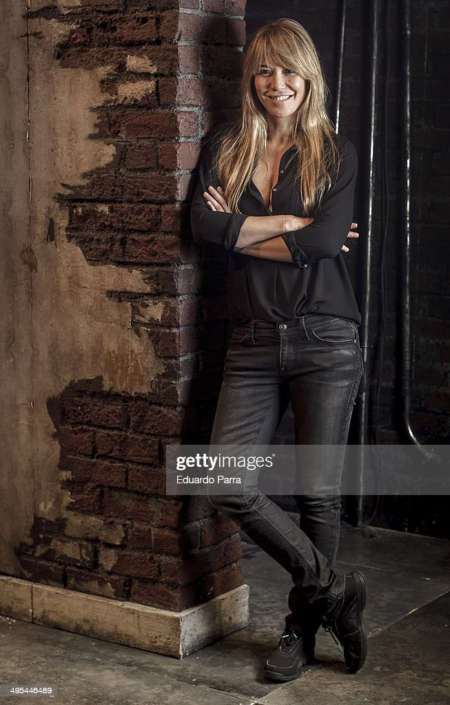 Actress Raquel Merono attends a portrait session before rehearsal of the play 'El hijoputa del sombrero' at Principe Gran Via theatre on June 3 2014...