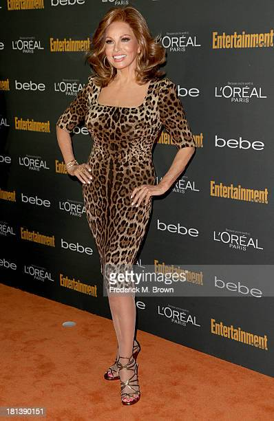 Actress Raquel Welch arrives at Entertainment Weekly's PreEmmy Party at Fig Olive Melrose Place on September 20 2013 in West Hollywood California