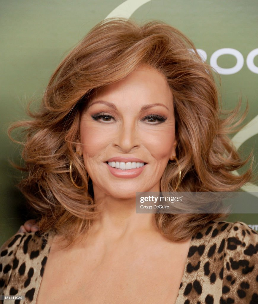 Actress <a gi-track='captionPersonalityLinkClicked' href=/galleries/search?phrase=Raquel+Welch&family=editorial&specificpeople=203311 ng-click='$event.stopPropagation()'>Raquel Welch</a> arrives at the Variety and Women In Film Pre-Emmy Party at Scarpetta on September 20, 2013 in Beverly Hills, California.