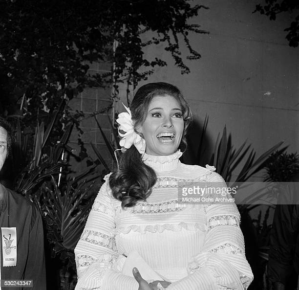 Actress Raquel Welch attends an event in Los AngelesCA