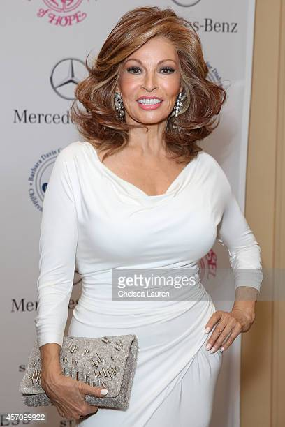 Actress Raquel Welch attends MercedesBenz presents the Carousel of Hope Ball benefitting Barbara Davis Center for Diabetes on October 11 2014 in...