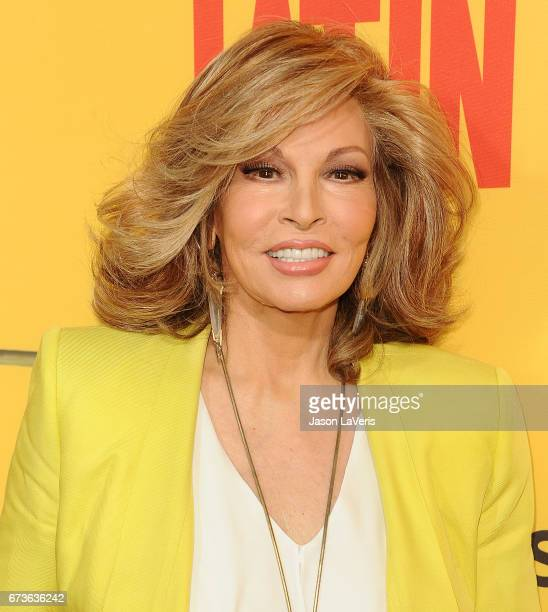 Actress Raquel Welch attends the premiere of 'How to Be a Latin Lover' at ArcLight Cinemas Cinerama Dome on April 26 2017 in Hollywood California