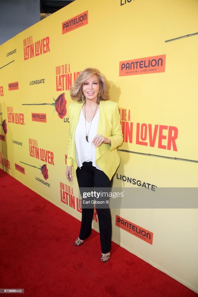Actress Raquel Welch attends the Premiere Of Pantelion Films 'How To Be A Latin Lover' at ArcLight Cinemas Cinerama Dome on April 26, 2017 in Hollywood, California.