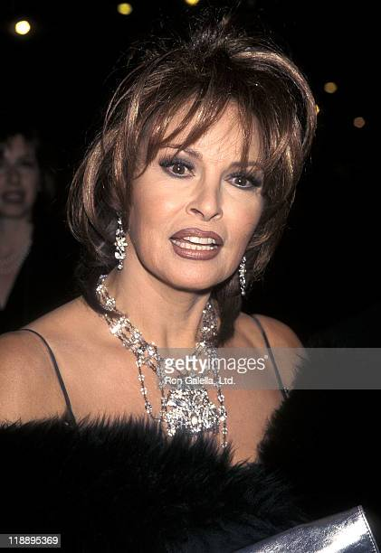 Actress Raquel Welch attends the Time Magazine's 75th Anniversary Celebration on March 3 1998 at Radio City Music Hall in New York City